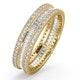 Katie Diamond Eternity Ring  in 18K Gold - Size K - image 1