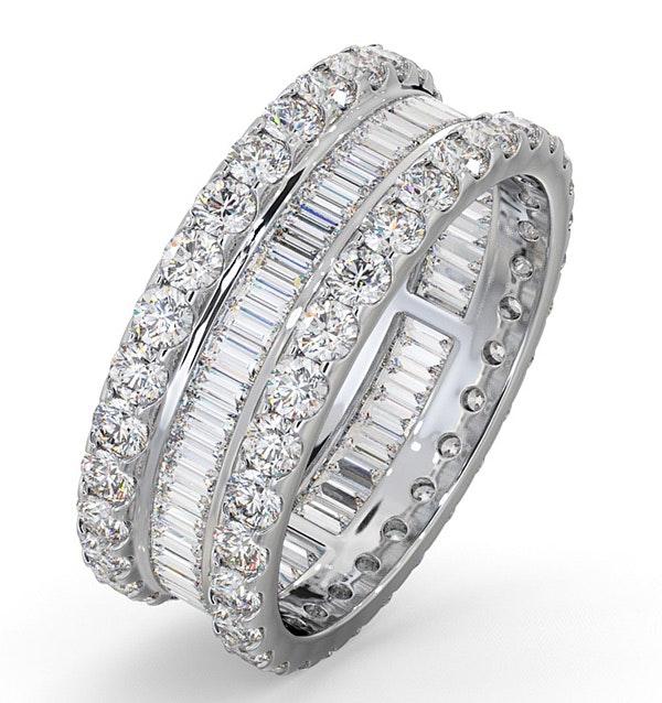 Eternity Ring Katie Platinum Diamond 3.00ct H/Si