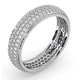 Eternity Ring Sara 18K White Gold Diamond 1.00ct H/Si - image 2