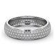 Eternity Ring Sara 18K White Gold Diamond 1.00ct H/Si - image 3