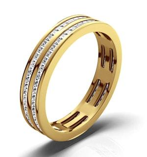 ETERNITY RING HOLLY 18K GOLD DIAMOND 1.00CT H/SI