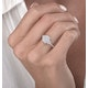 0.50ct Vintage Asteria Collection Diamond Ring in 18K White Gold - image 3