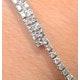Diamond Bangle 0.50ct 9K White Gold - image 4