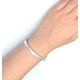 18K White Gold Diamond Bangle 2.00ct H/Si - image 2