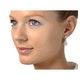 18K White Gold Diamond Earring 1.26ct H/Si - image 3