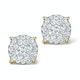 Diamond Earrings Moyen 0.85ct H/Si in 18K Gold - P3471 - image 1