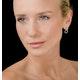 Athena Diamond Drop Earrings Multi Wear 1ct in 18K White Gold - P3492 - image 4