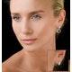 Athena Diamond Drop Earrings Multi Wear 0.90ct 18K White Gold - P3498 - image 4