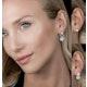 Athena Diamond Circle Multi Wear Earrings 1.3ct Set in 18K White Gold - image 2