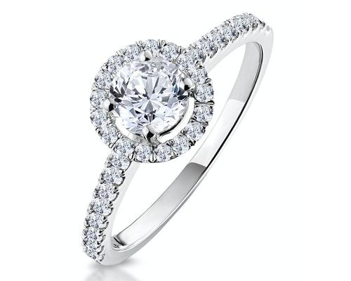 Ella Round Engagement Rings