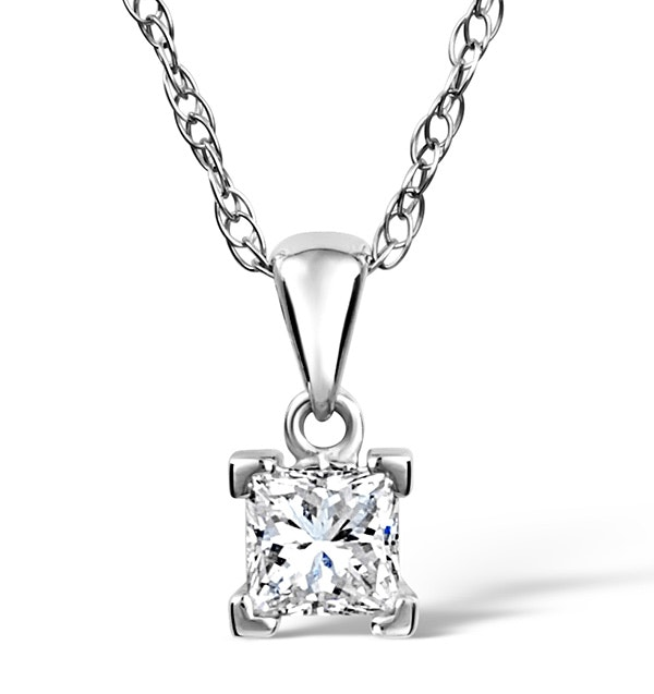 Olivia Platinum Diamond Pendant 0.50CT G/VS