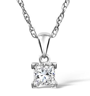 OLIVIA 18K WHITE GOLD DIAMOND PENDANT 0.25CT H/SI