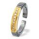 18K Gold Titanium Ring - image 1