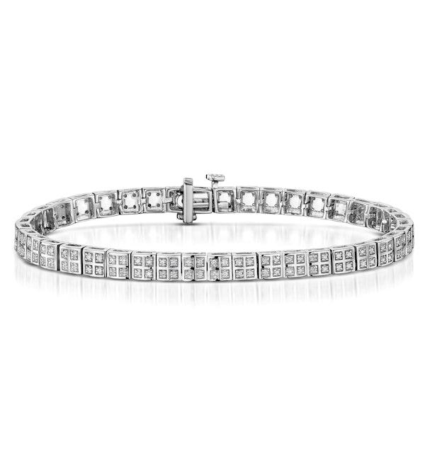 Vivant Collection Diamond Bracelet 0.52ct in 925 Silver - UD3258 - image 1