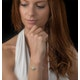 Allura Collection Clover Pave Diamond Bracelet Set in 925 Silver - image 2