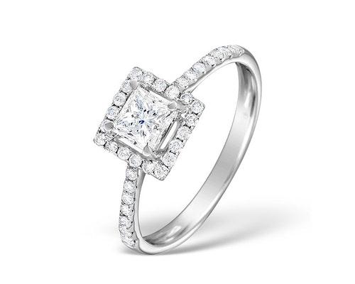 Ella Princess Engagement Rings