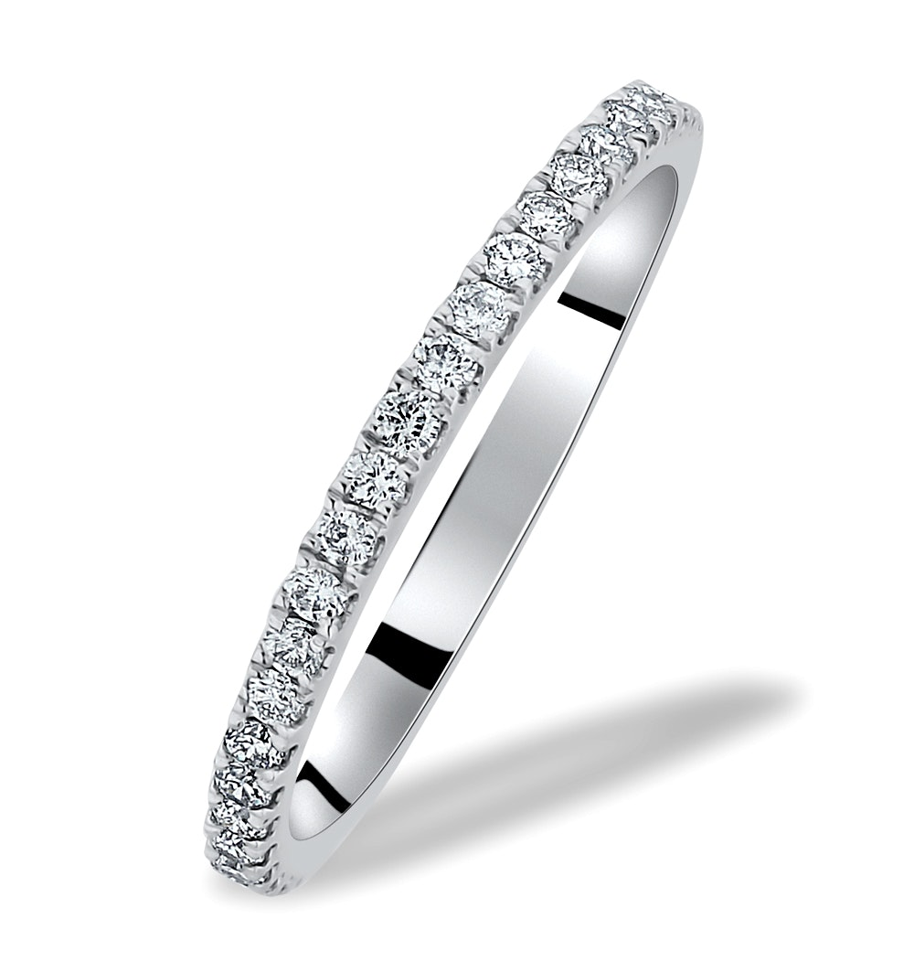 Victoria Matching Diamond Wedding Band 0.20ct in Platinum