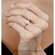 Georgina GIA Oval Diamond Halo Engagement Ring Platinum 1.30ct G/SI1 - image 4