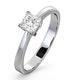 Certified Lauren Platinum Diamond Engagement Ring 0.50CT-G-H/SI - image 1