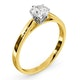 Certified Low Set Chloe 18K Gold Diamond Engagement Ring 0.75CT - image 2