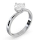 Certified Lily 18K White Gold Diamond Engagement Ring 1.00CT - image 2