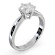 Certified High Set Chloe 18KW DIAMOND Engagement Ring 1.00CT - image 2