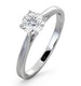 Engagement Ring Certified 0.70CT Petra Platinum  E/VS1 - image 1
