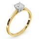 Engagement Ring Certified 0.70CT Petra 18K Gold  G/SI2 - image 2
