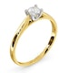 Certified Grace 18K Gold Diamond Engagement Ring 0.25CT - image 2