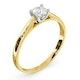 Certified Grace 18K Gold Diamond Engagement Ring 0.33CT - image 2