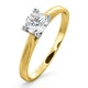 Certified Grace 18K Gold Diamond Engagement Ring 0.50CT - image 1