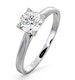 Certified 0.70CT Grace Platinum Engagement Ring G/SI2 - image 1