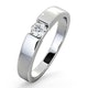 Certified Jessica 18K White Gold Diamond Engagement Ring 0.25CT - image 1