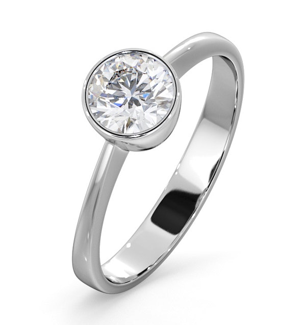 Emily Engagement Ring 0.75CT in 18K White Gold