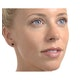 Sapphire 5mm x 4mm 9K Yellow Gold Earrings - image 2