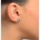 Emerald 0.21CT And Diamond 9K Yellow Gold Earrings - image 4