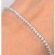 Diamond Tennis Bracelet Chloe 2.00ct H/Si Claw Set in 18K White Gold - image 3