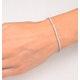 Diamond Tennis Bracelet Chloe 2.00ct H/Si Claw Set in 18K White Gold - image 4