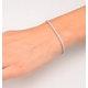 Diamond Tennis Bracelet Chloe 2.00ct Premium Claw Set 18K White Gold - image 4