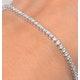 Diamond Tennis Bracelet 18K White Gold Chloe 2.00ct G/Vs - image 3