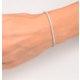 Diamond Tennis Bracelet 18K White Gold Chloe 2.00ct G/Vs - image 4