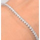 Diamond Tennis Bracelet Chloe 3.00ct H/Si Claw Set in 18K Gold - image 3