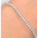 Diamond Tennis Bracelet Chloe 3.00ct Premium Claw Set 18K White Gold - image 3