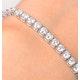 Diamond Tennis Bracelet 18K White Gold Chloe 6.00ct G/Vs - image 3