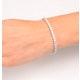 Diamond Tennis Bracelet 18K White Gold Chloe 6.00ct G/Vs - image 4