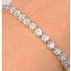 Chloe 18K White Gold Diamond Bracelet 3.00ct H/Si - image 2