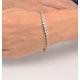 Chloe 18K White Gold Diamond Bracelet 3.00ct H/Si - image 3