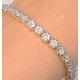 Chloe 18K White Gold Diamond Bracelet 3.00ct G/Vs - image 2