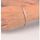Chloe 18K White Gold Diamond Bracelet 3.00ct G/Vs - image 3