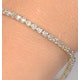 2ct Diamond Tennis Bracelet Claw Set in 9K Yellow Gold - image 2